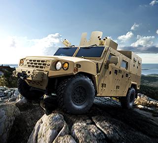 Kia Motors Corporation's military vehicle website