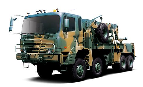 Km1501 Wrecker│kia Motors Corporation S Military Vehicle